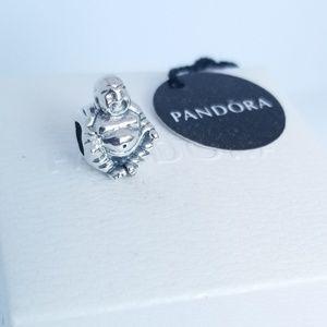 PANDORA Smiling Buddha Charm Sterling Silver